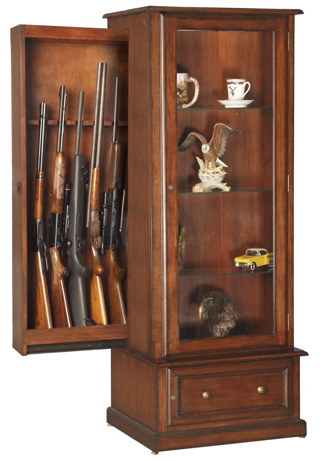 hidden gun storage furniture