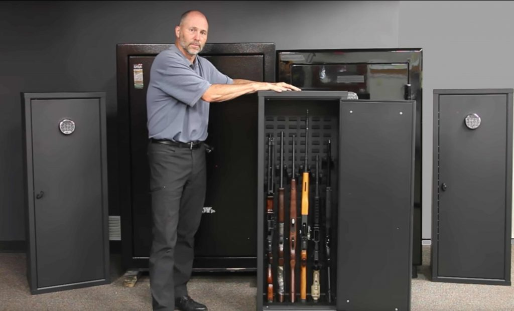 Residential gun storage solutions